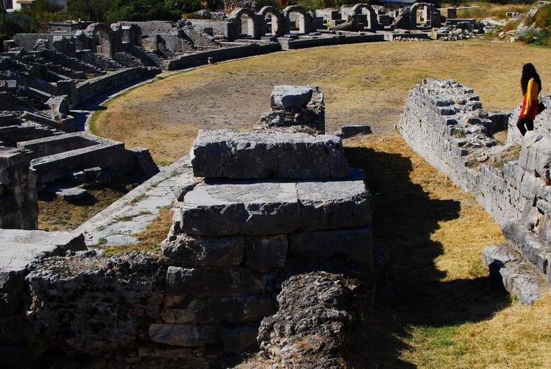 Solin Croatia ruins