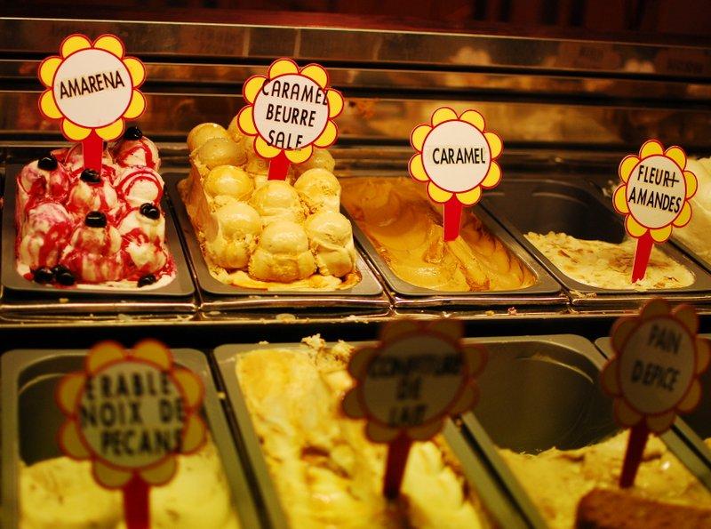 Nice France Ice Cream Fenocchio