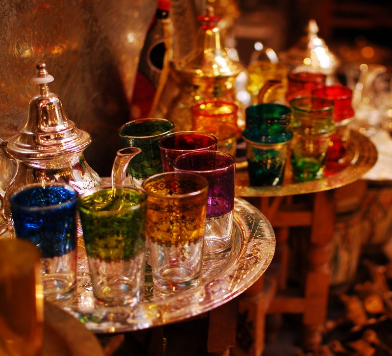 Marrakech Souk Guide Glassware