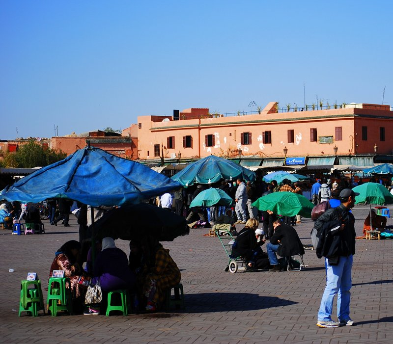 Marrakech Souk Guide - Chaos