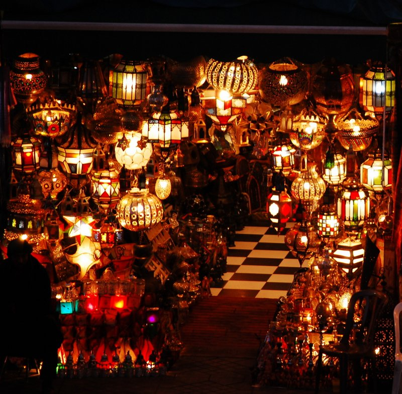 Marrakech Souk Guide - Lamps