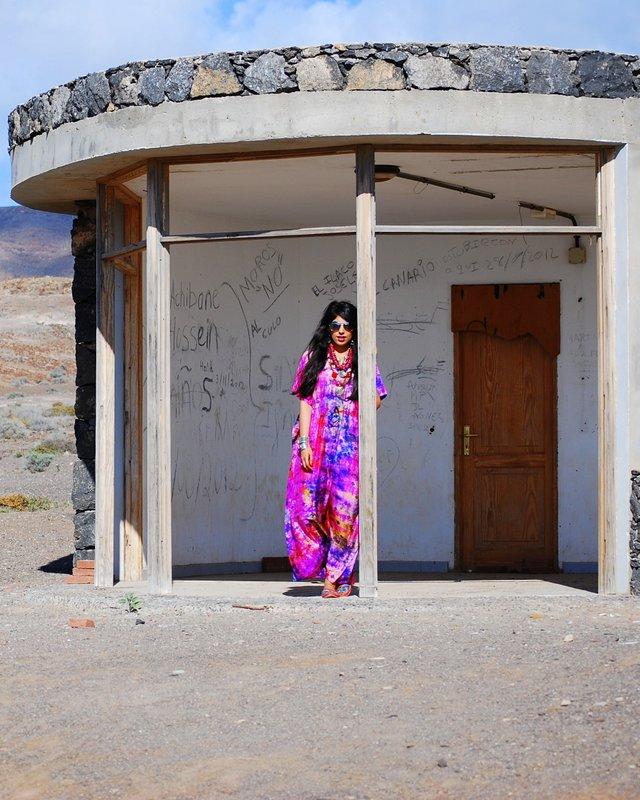 Kaftan. Bohemian Fashion