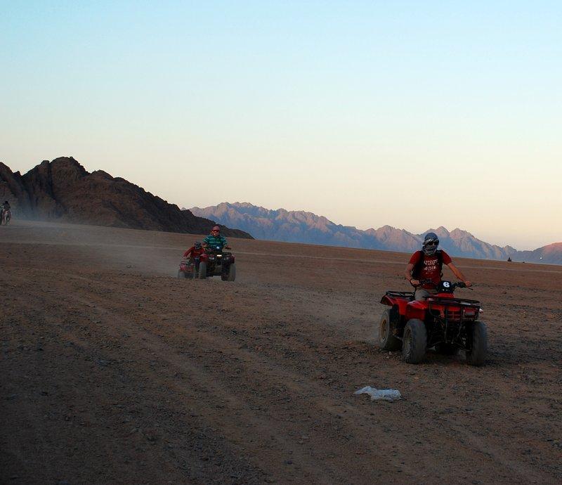 Sharm El Sheikh Trip Ideas- Quad Biking