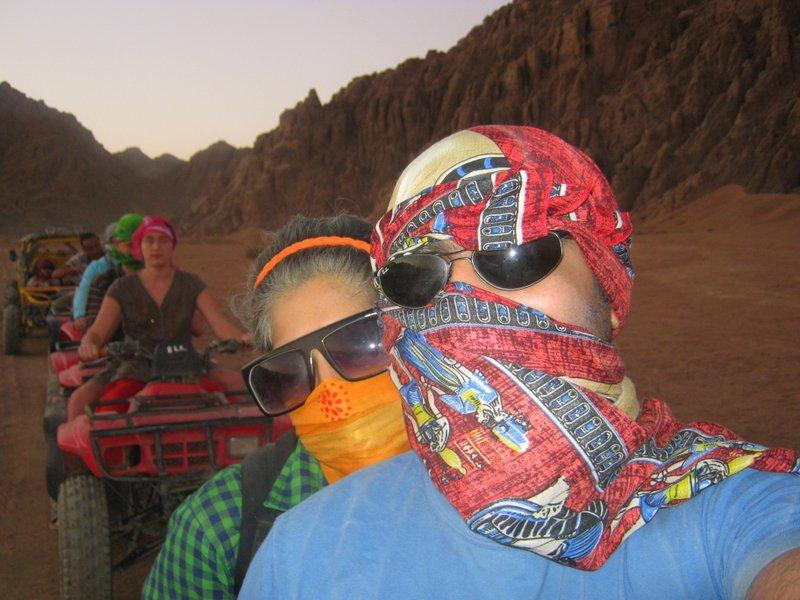 Sharm El Sheikh Quad Biking - The two of us