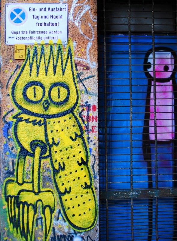 Love Berlin - Street Art masterpieces