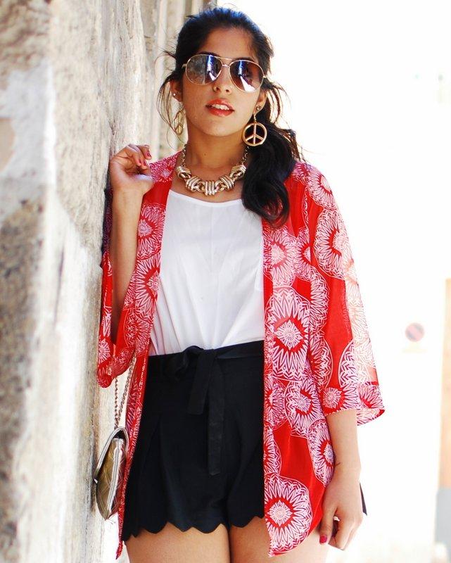 Summer Fashion - Kimono