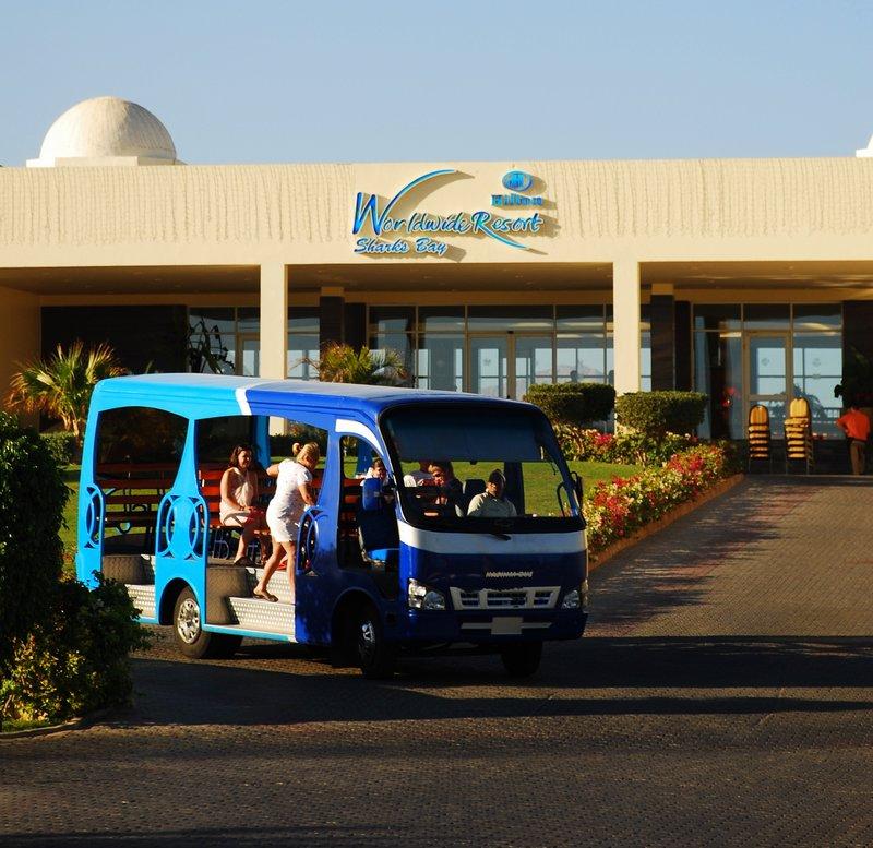 hilton sharm el sheikh sharks bay shuttle