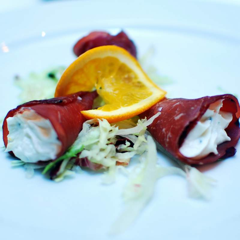 Budget Cruise Deals food