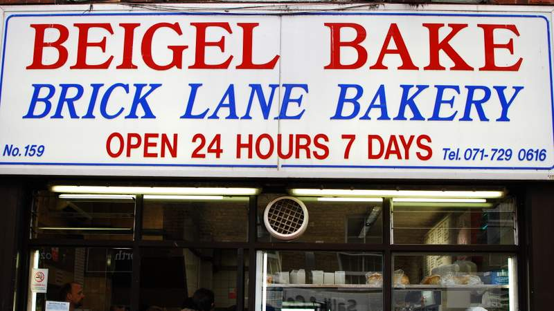 Eating London Food Tour Beigel Bake