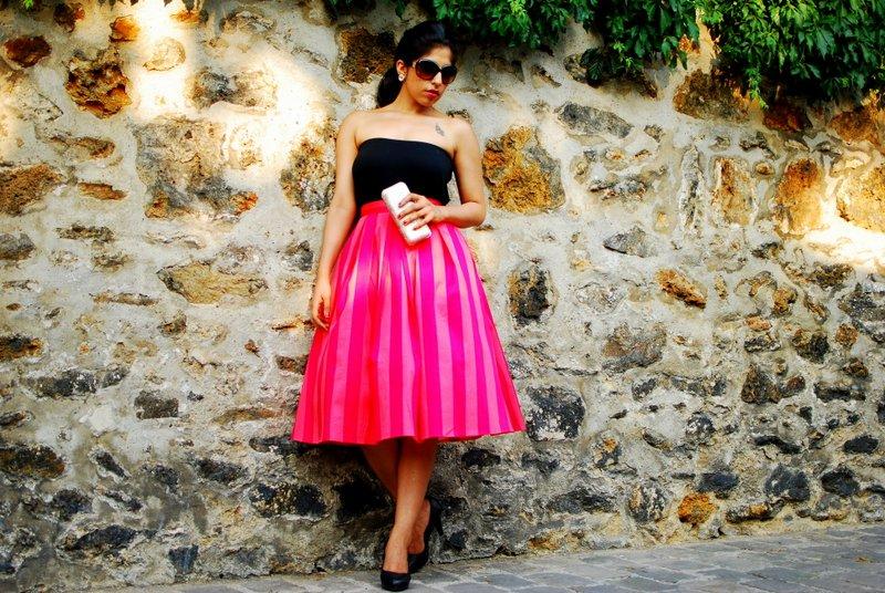Midi Skirt Fashion France