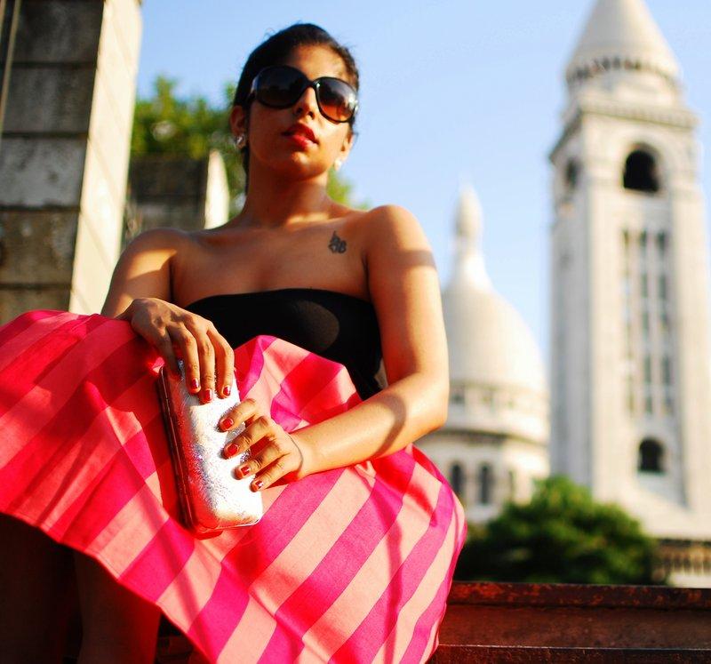 Midi Skirt Fashion Paris France