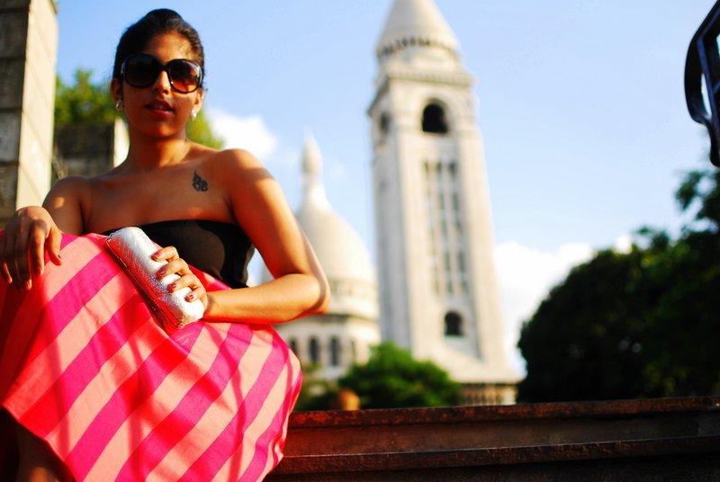 Midi Skirt Fashion Paris