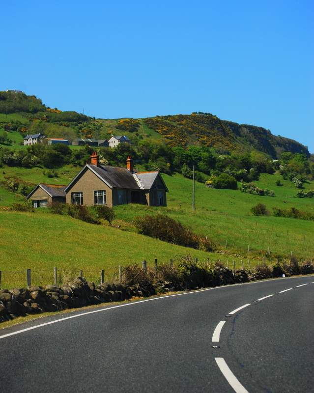 03-Drive to Giant's Causeway cottage itinerary
