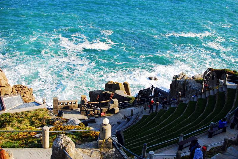 London Cornwall Road Trip Minack