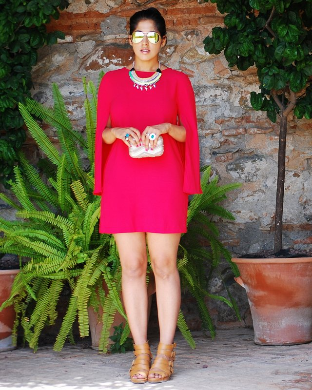 Fall Fashion zara dress