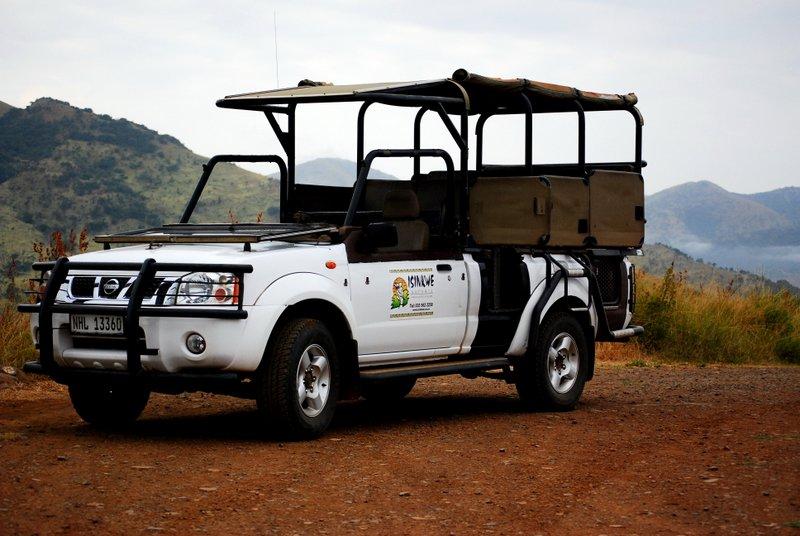 Safari at Hluhluwe Imfolozi National Park. Isinkwe
