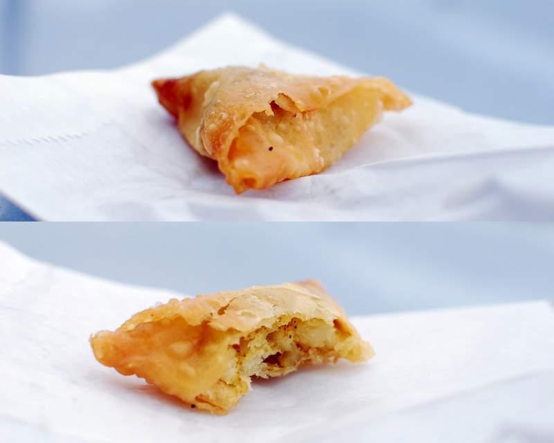 street food of mauritius samosa