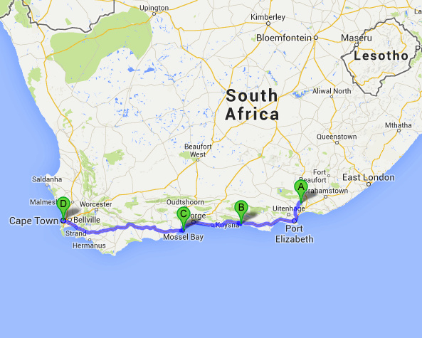 Driving the Garden Route