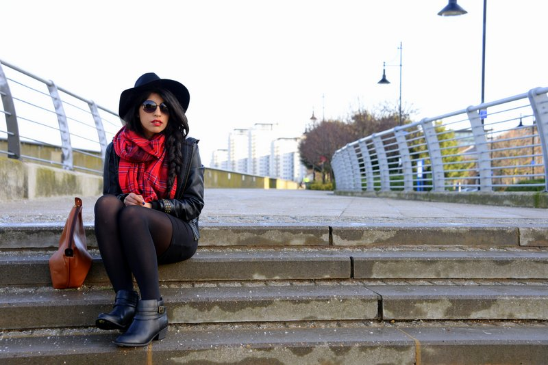 Travel Fashion Tartan trend Fedora 2