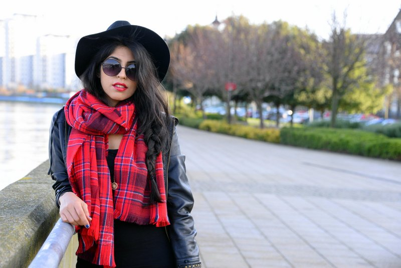 Travel Fashion Tartan trend fedora