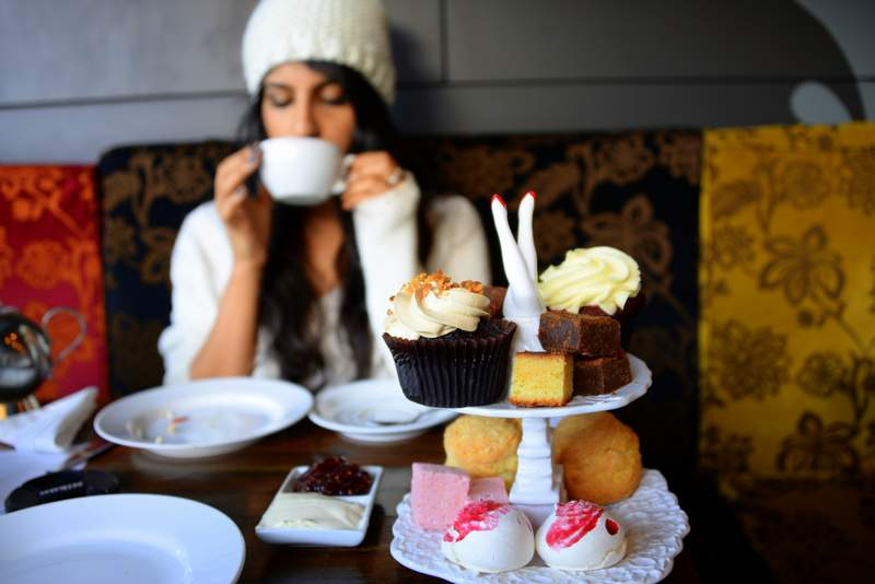 best budget afternoon tea in london Bea's of Bloomsbury