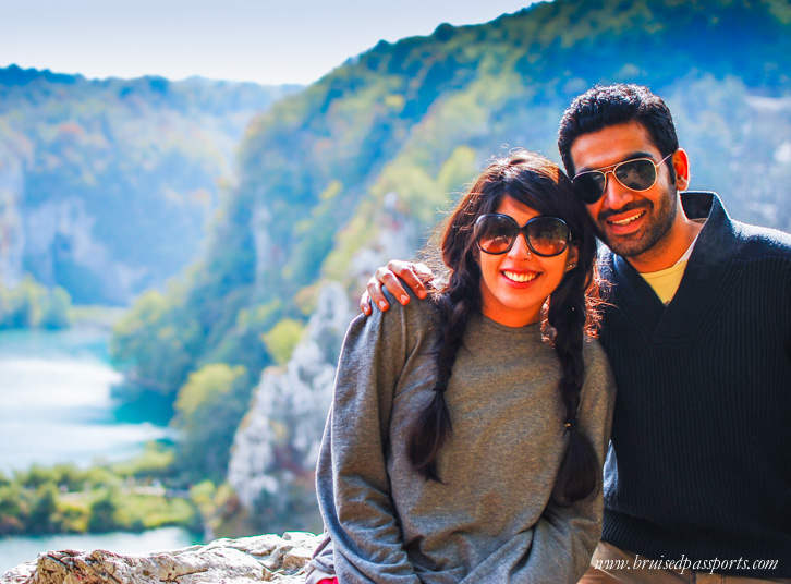 The two of us in Croatia