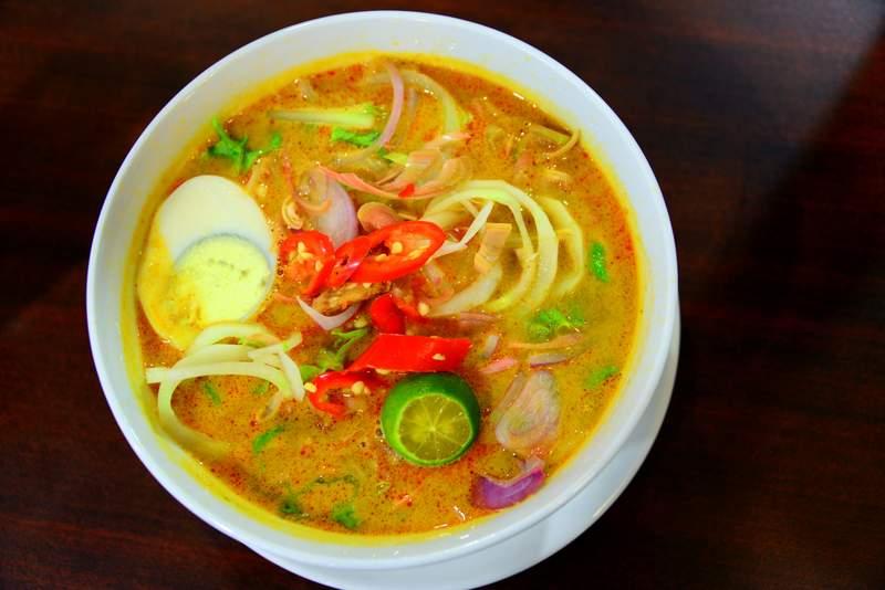 food of malaysia laksa