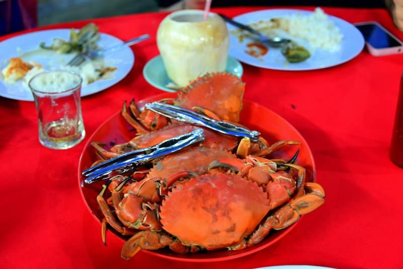 food of malaysia crab
