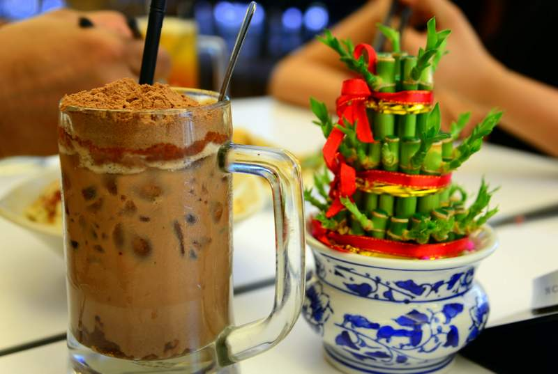 street food of malaysia iced milo