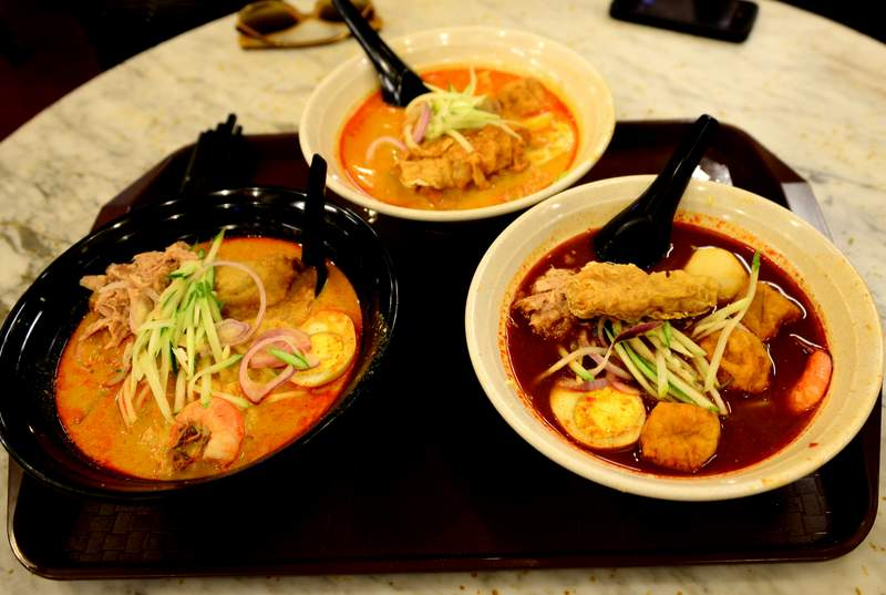 street food of malaysia laksa