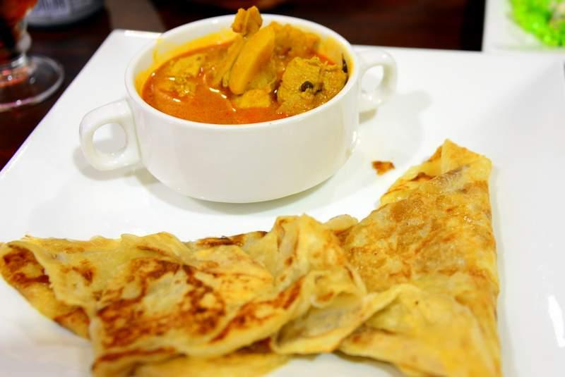street food of malaysia roti cennai