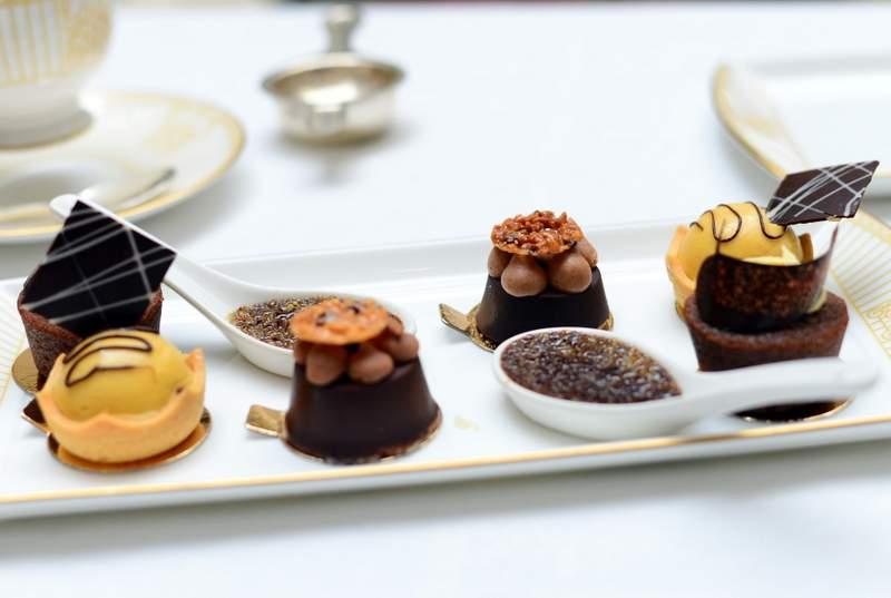 Chocolate Afternoon Tea at The Landmark Hotel