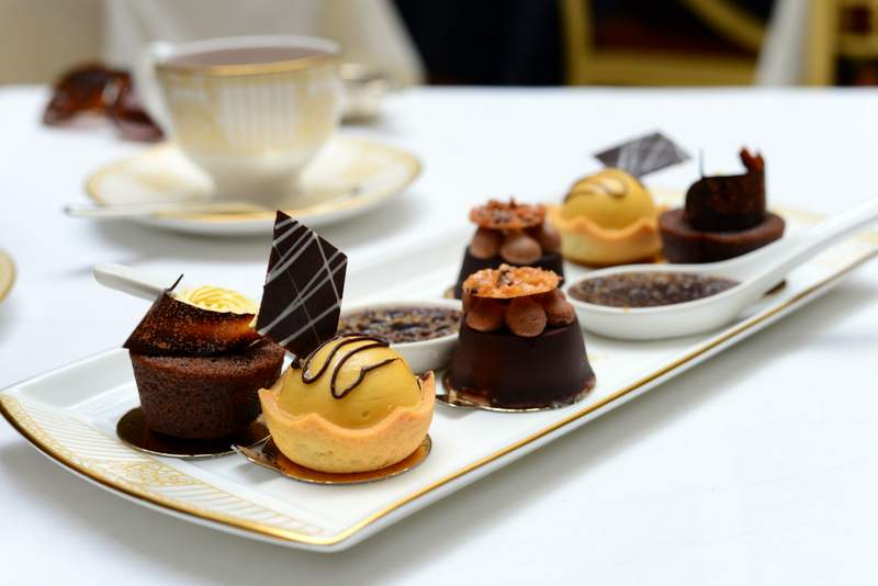 Chocolate Afternoon Tea at The Landmark Hotel