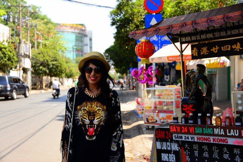 Travel Fashion in Vietnam Hat