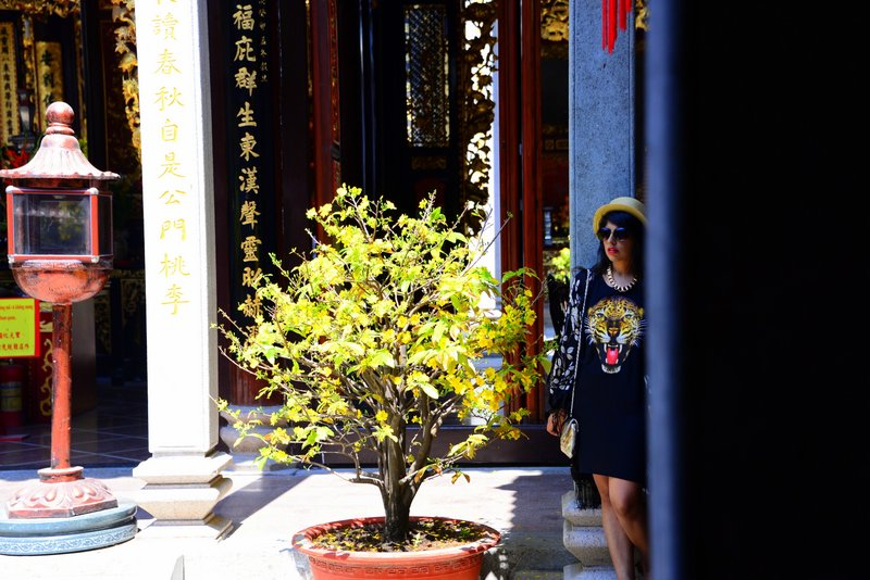 Travel Fashion in Vietnam holiday