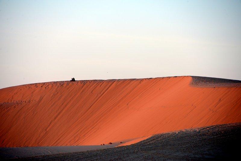 White Sand Dunes in Mui Ne Vietnam 3