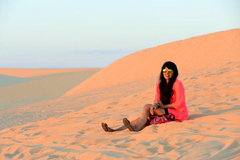 White Sand Dunes in Mui Ne itinerary