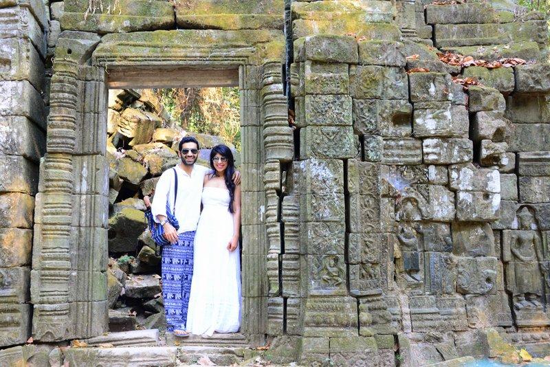 Ankor Temples Ta Phrom Roots