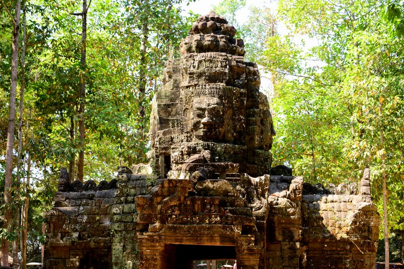 Angkor Temples Ta Som Entrance