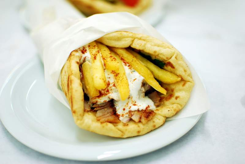 Athens-in-a-day - gyros