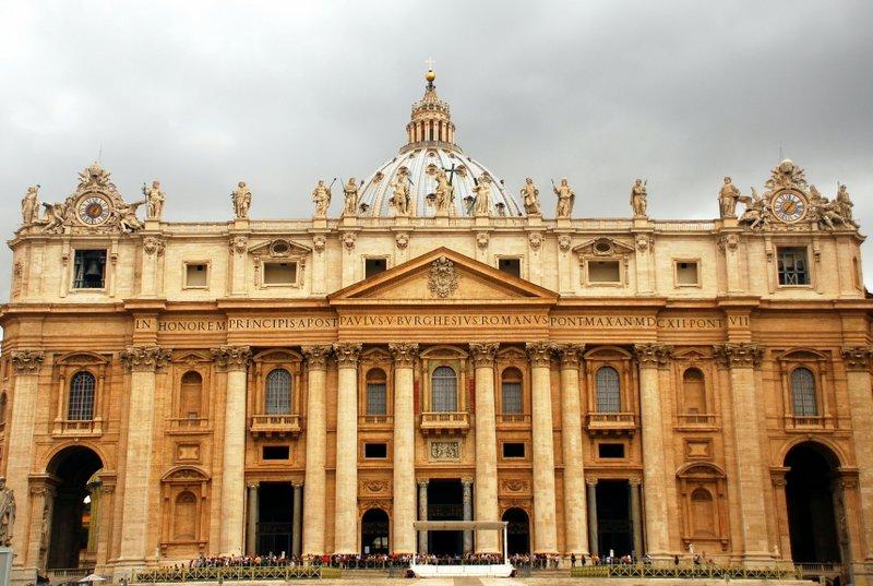Vatican entrance