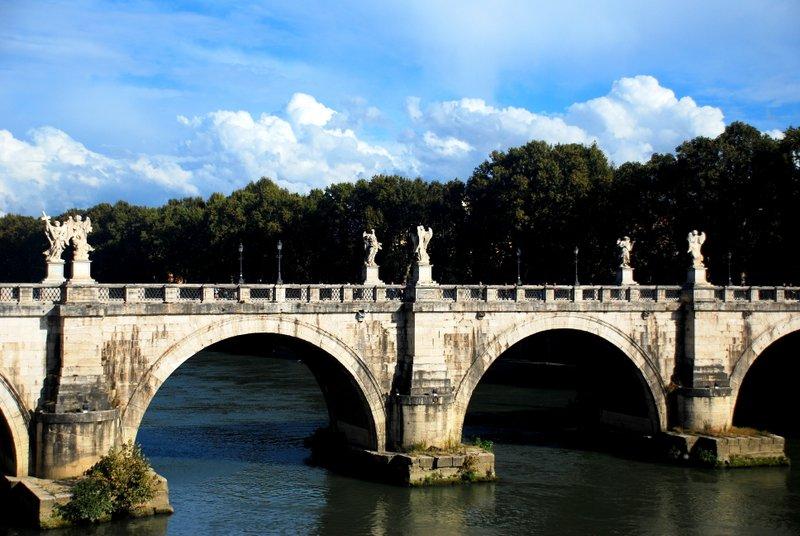 Vatican Bridge Sant Angel