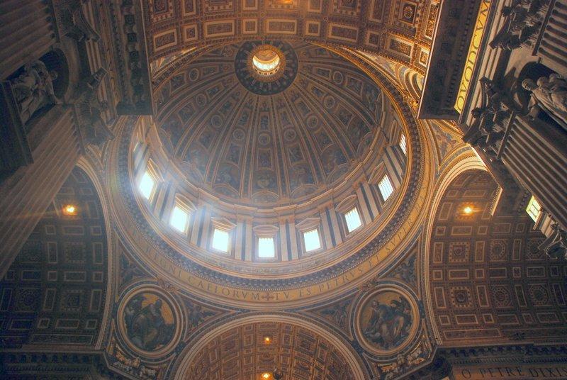 Vatican basilica dome