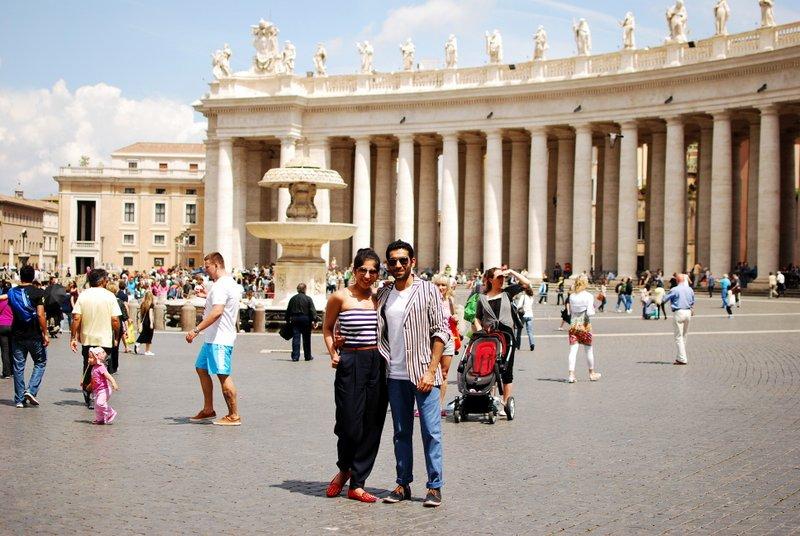 Vatican St. Peter's square