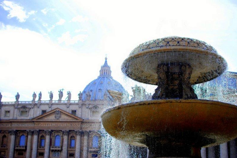 The Basilica at Vatican