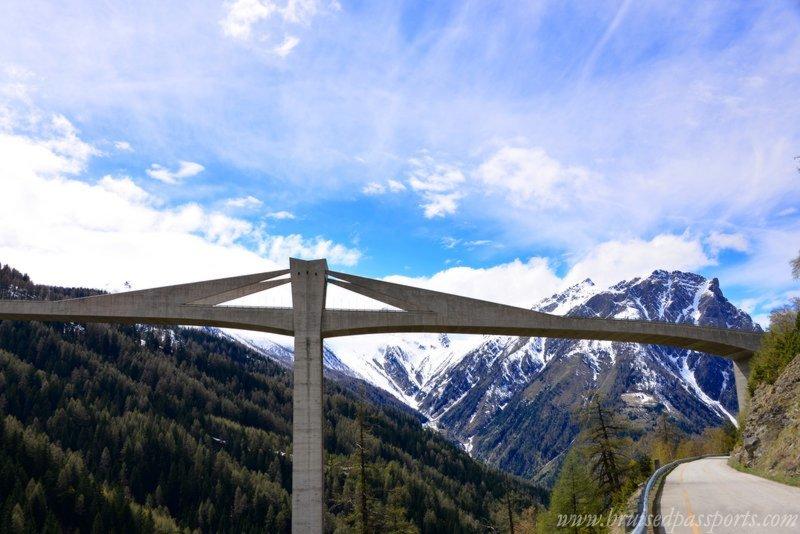Road Trip in Switzerland Simplon Dorf