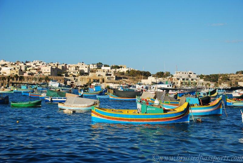 things to do in Malta marsaxlokk