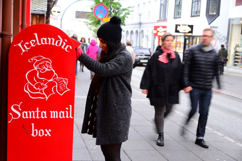 Send a letter to Santa or see what he is up to