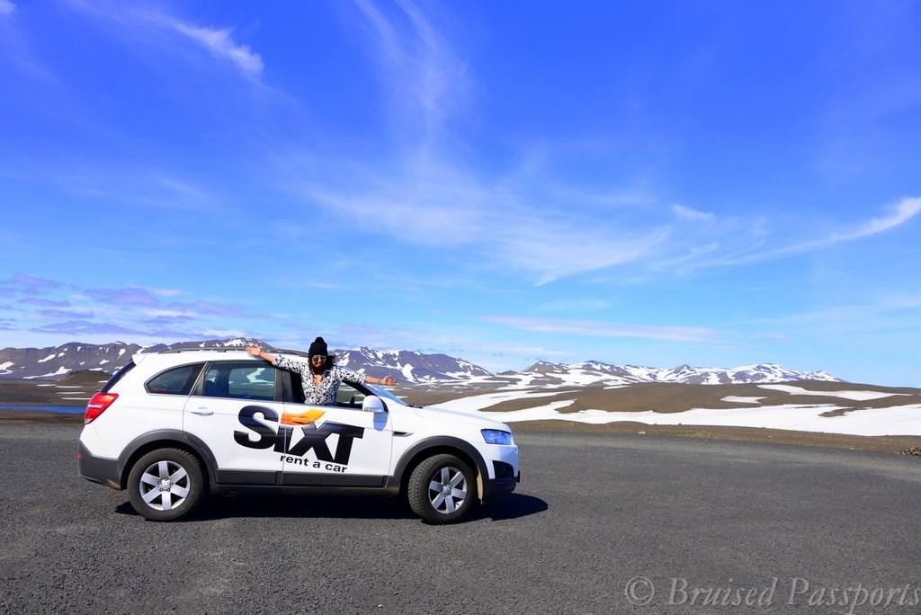 Iceland road trip car rental