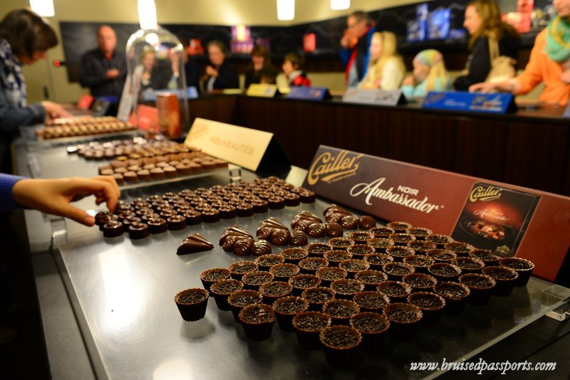 Day trip from Geneva - chocolate factory